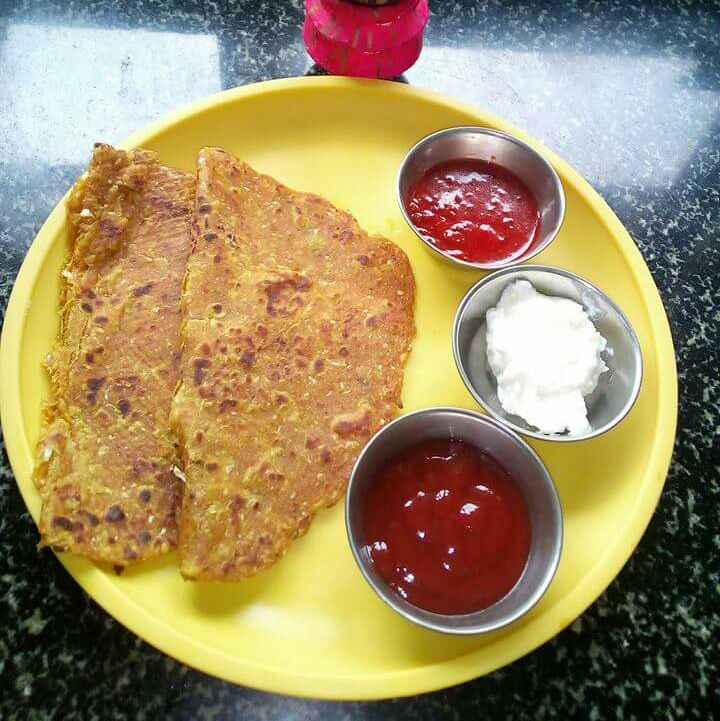 Photo of Cabbage paratha by deepali oak at BetterButter