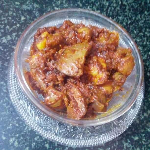 How to make Kaleji fry
