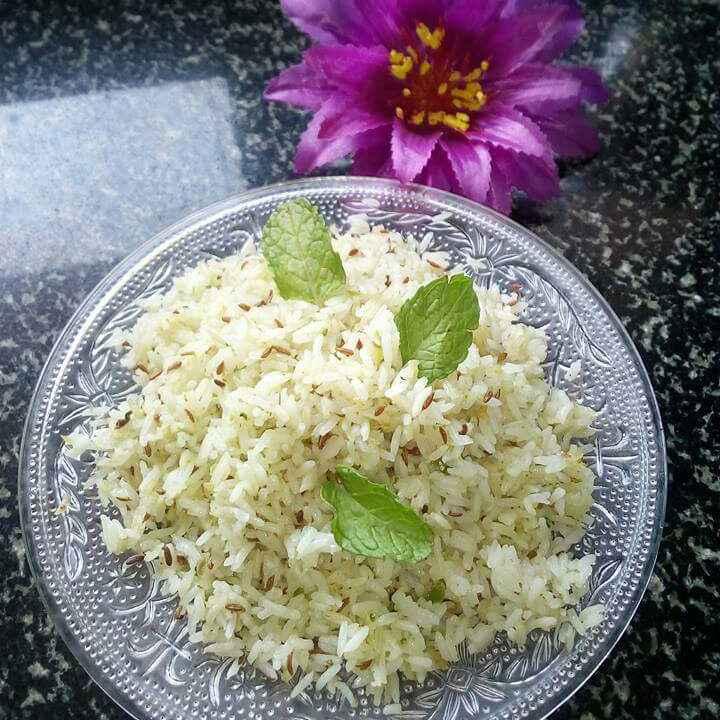 Photo of Mint flevr jira rice by deepali oak at BetterButter