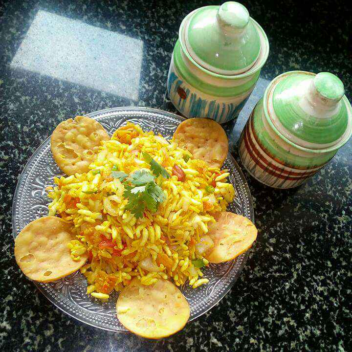 How to make Sukha bhel