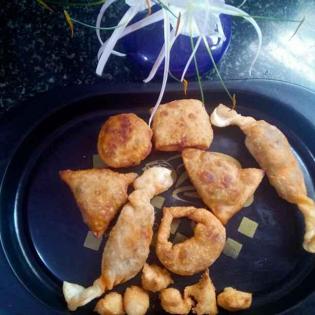 How to make चिकन पफ