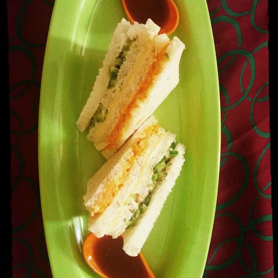 Photo of Tiranga sandvich by Deepali Saurabh Bansal at BetterButter