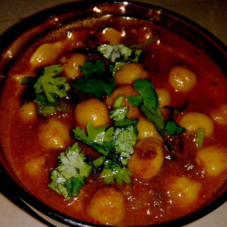 Photo of Punjabi chole masala by Deepika Chauhan at BetterButter
