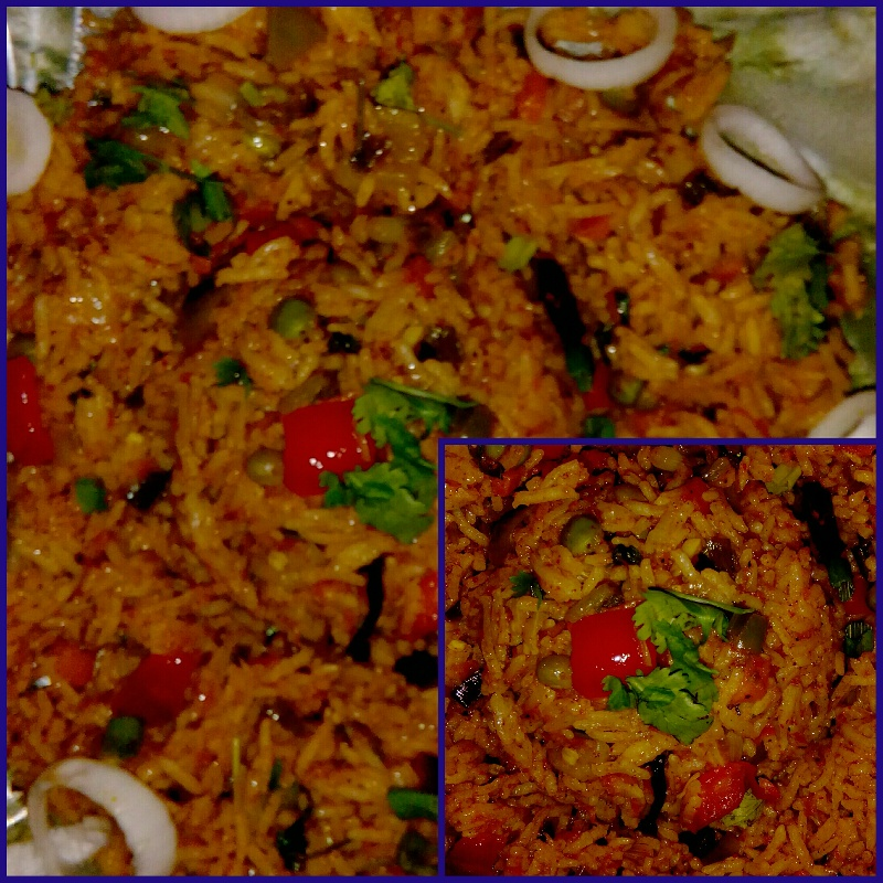 How to make Spicy vegetable pulao