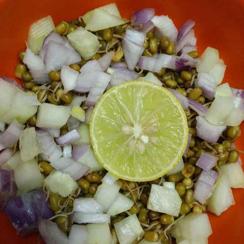 Photo of Protein rich Sprouts salad by Deepika K at BetterButter