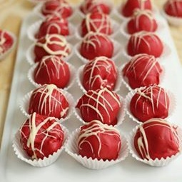 Photo of Strawberry cheese & chocolate truffles by Mrs. D foodelicious at BetterButter