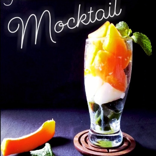 How to make FROST TRICOLOUR MOCKTAIL
