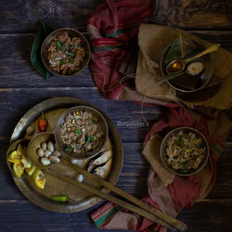 Photo of Mash of Jackfruit seeds (Kothalgutir pitika) by Deepshikha Dihingia at BetterButter