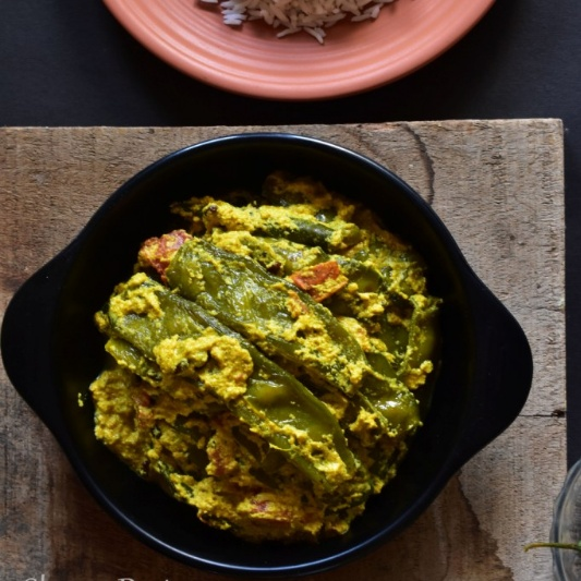 Photo of Sheem Posto (Flat Beans cooked in Poppy Paste) by Deepsikha Chakraborty at BetterButter
