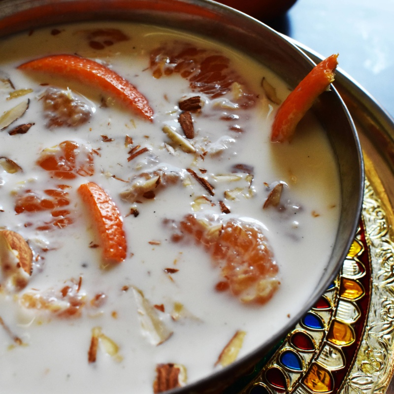 Photo of Kheer Komola / Orange Kheer (Milk Pudding with Orange) by Deepsikha Chakraborty at BetterButter