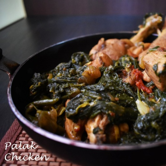 Photo of Palak Chicken (Chicken cooked with Spinach) by Deepsikha Chakraborty at BetterButter