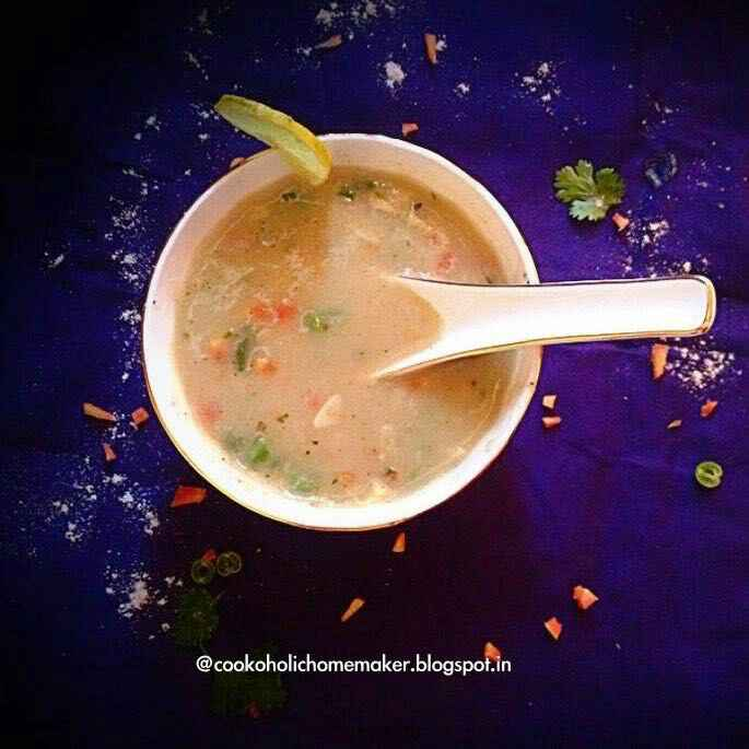 How to make Wheat flour soup