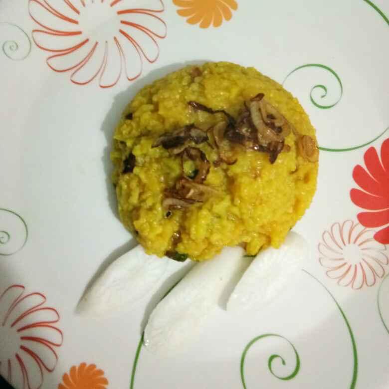 How to make Tadka dal khichdi