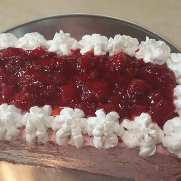 Photo of Instant strawberry cake by Delicacies On The Plate - Pallavi's Kitchen at BetterButter