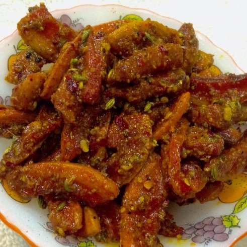 Photo of Instant Carrot Pickle - Gajar ka achar by Delicacies On The Plate - Pallavi's Kitchen at BetterButter