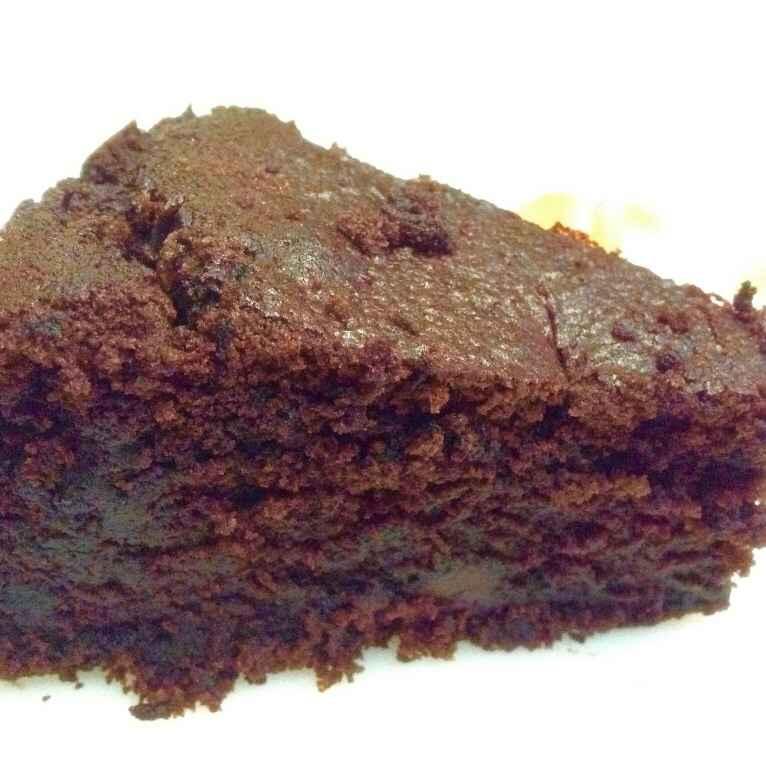 How to make Eggless double chocolate cake