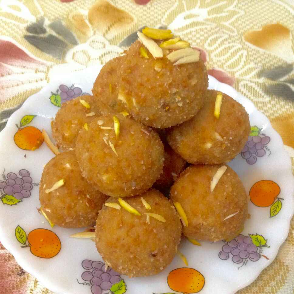 How to make Moong dal laddoo