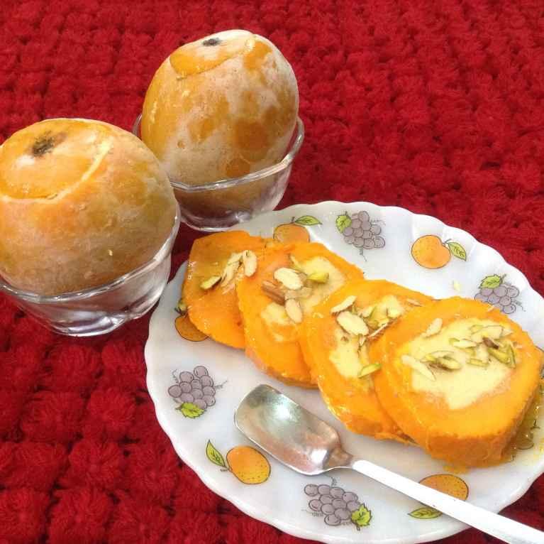 Photo of Rabri stuffed mango kulfi by Delicacies On The Plate - Pallavi's Kitchen at BetterButter
