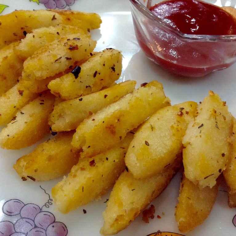 How to make Crispy idli fries