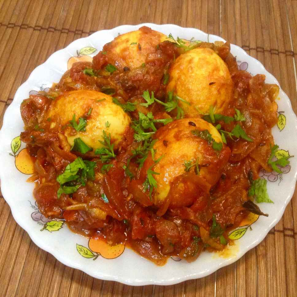 Photo of Kerala style egg roast-mutta roast by Delicacies On The Plate - Pallavi's Kitchen at BetterButter