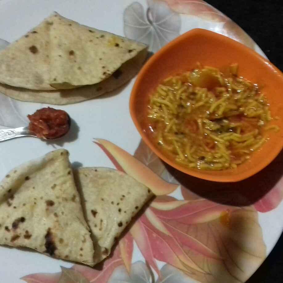 Photo of Sev tomato sabji by Devi Amlani at BetterButter