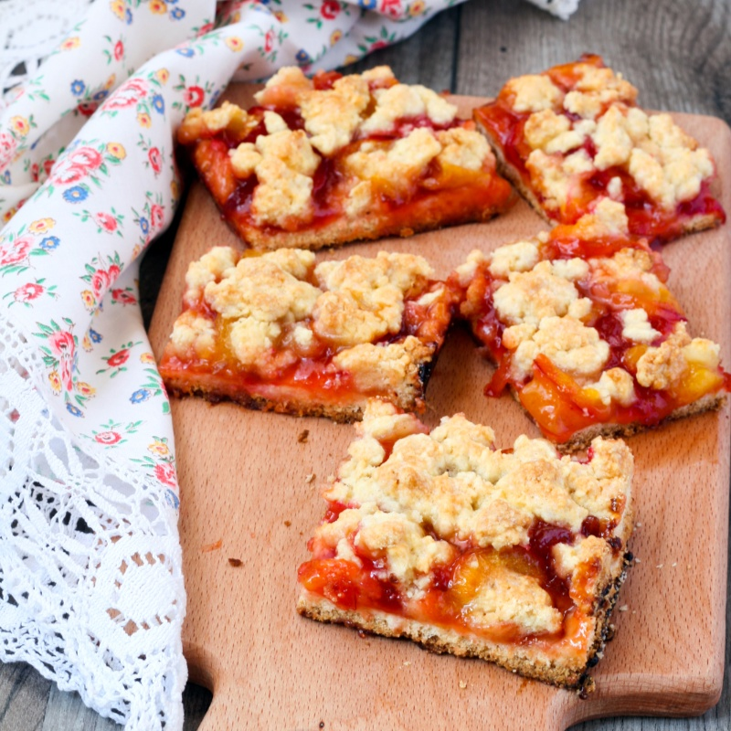 Photo of Plum and Almond tray bake by Deviyani Srivastava at BetterButter