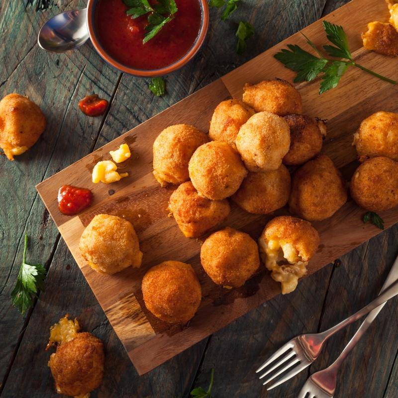 How to make Fried Macaroni and Cheese Bites