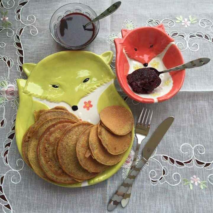 Photo of Beetroot Pancakes with Beetroot Caramel by Deviyani Srivastava at BetterButter
