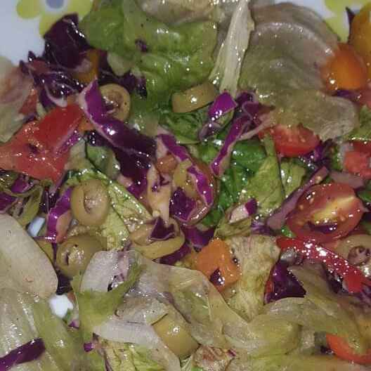 How to make Colorful Lettuce Salad