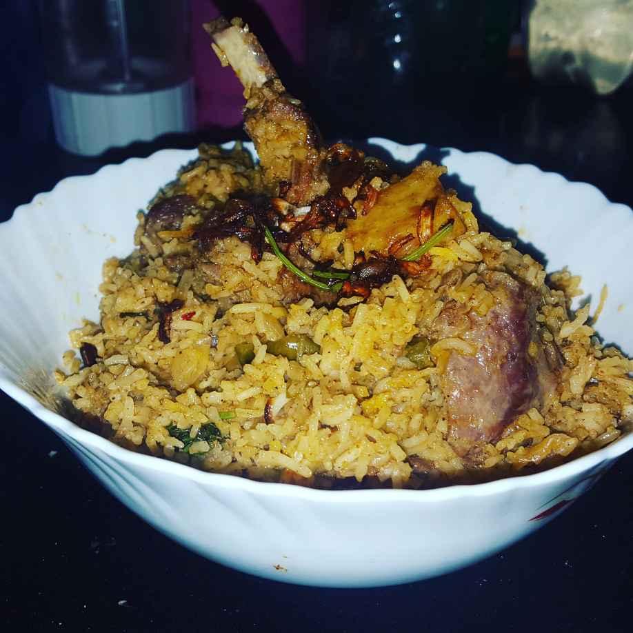 Photo of Kolkata style mutton biriyani by debashri chatterji at BetterButter