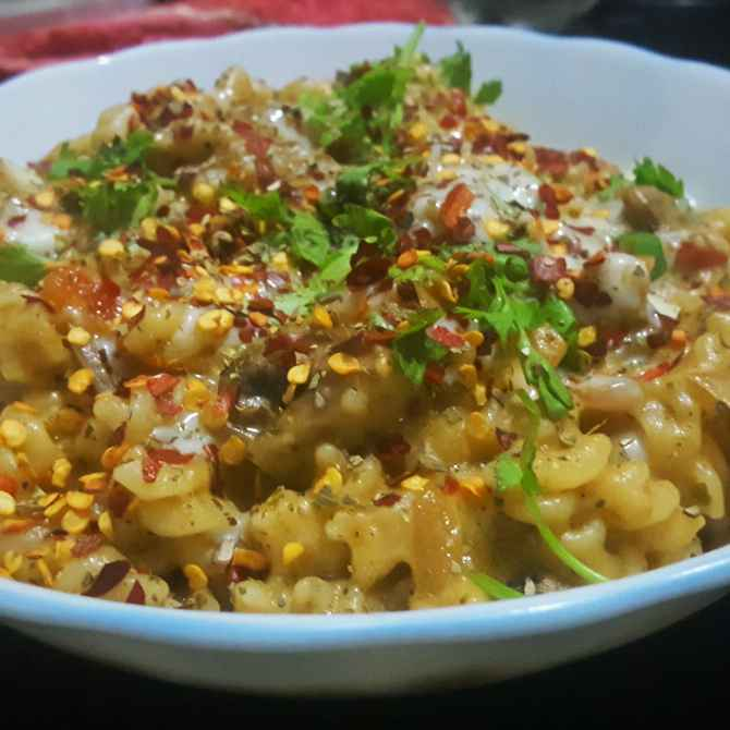 How to make Creamy pasta