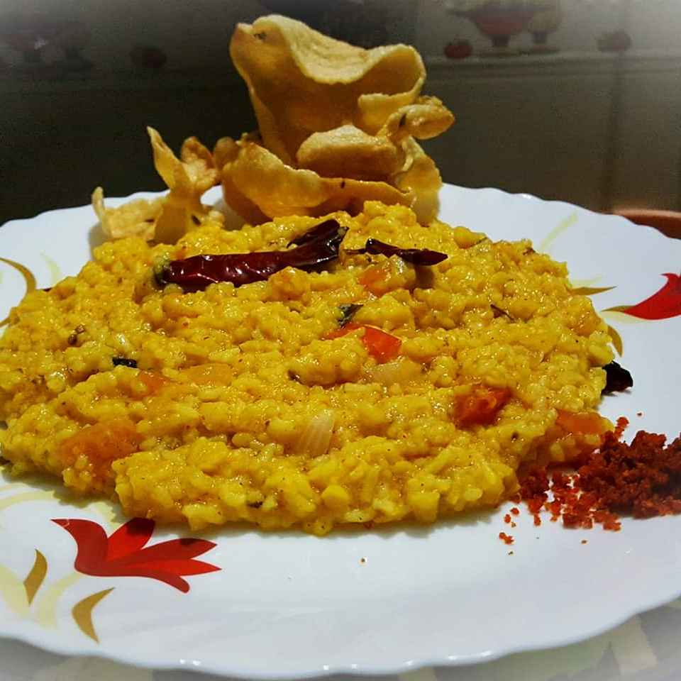 How to make Dal khichdi