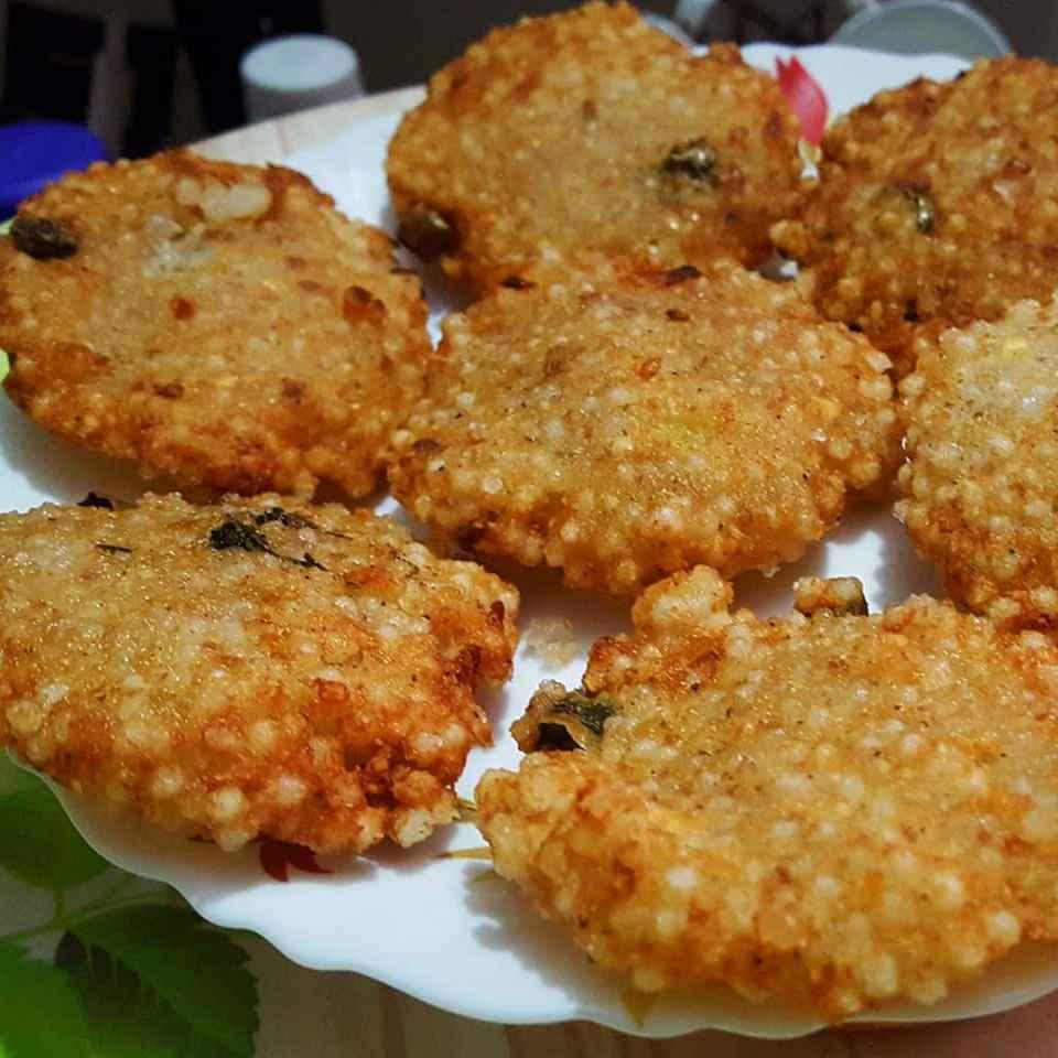 How to make Sabudana vada