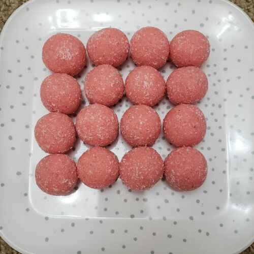 Photo of Rose coconut laddoo by Dhana laxmi malayala at BetterButter