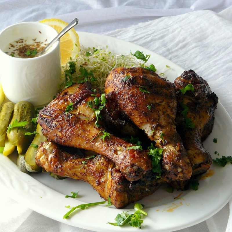 Photo of Grilled Chicken Drumsticks with Coffee Spice Rub by Dhanya Samuel at BetterButter