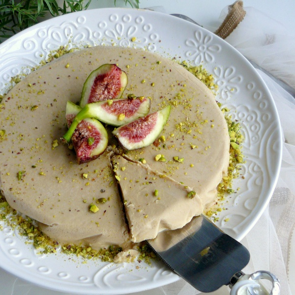 Photo of Masala Chai Semifreddo (Served with Crushed Pistachios and Fresh Figs) by Dhanya Samuel at BetterButter