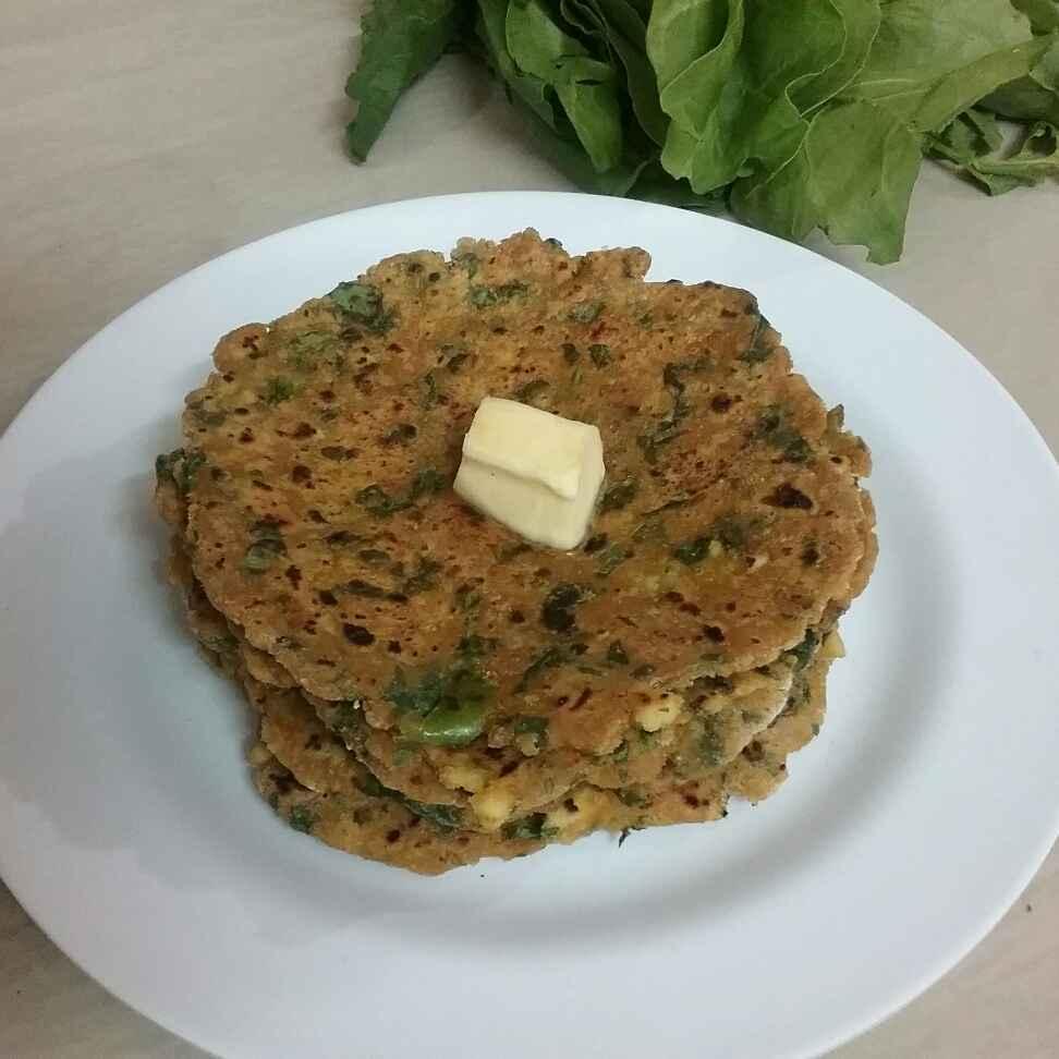 How to make Spinach Tofu Paratha