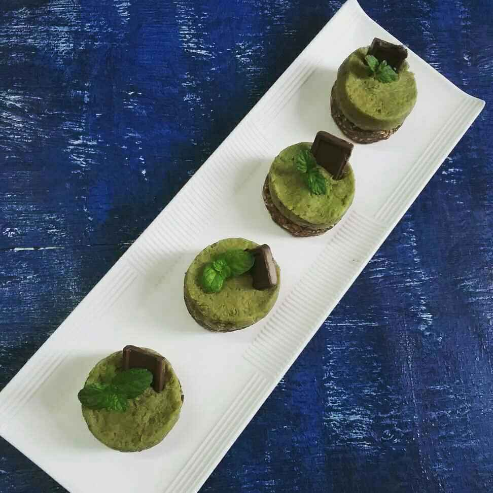 How to make Avocado mini cheese cake tart