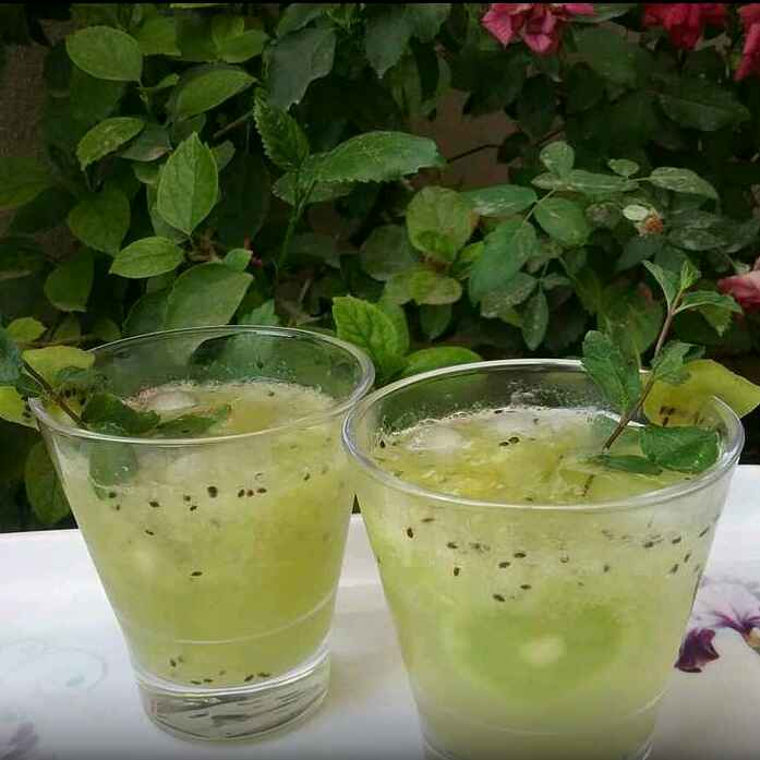 How to make Kiwi mocktail