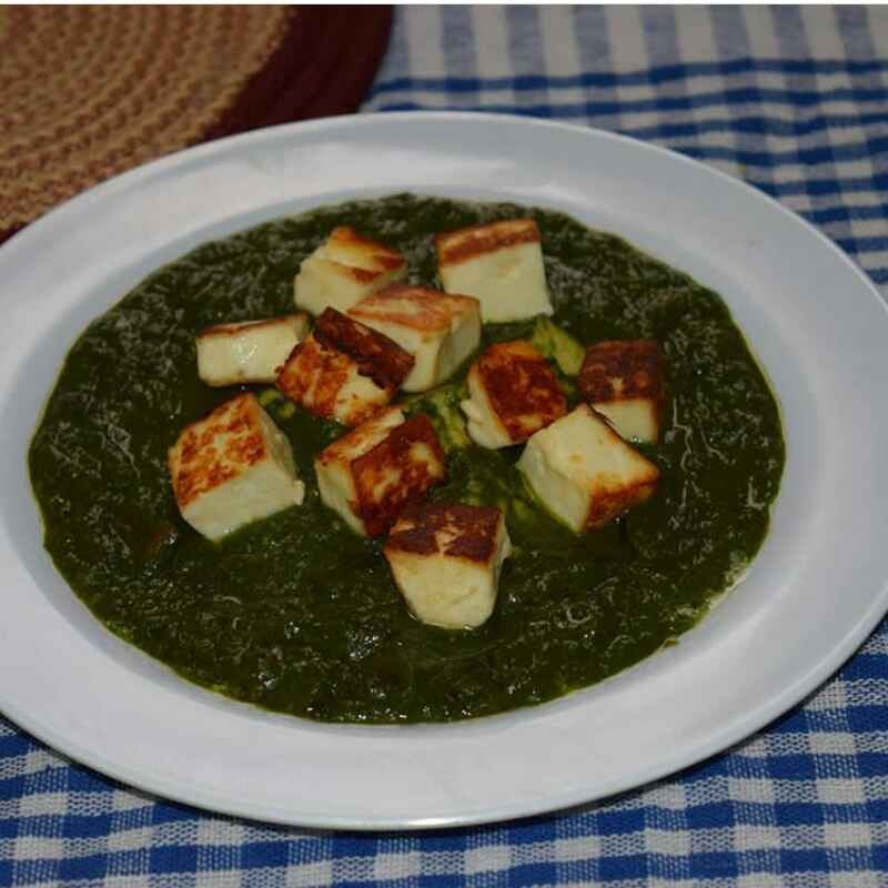 How to make Punjabi palak paneer ( no onion no garlic )