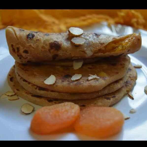 Photo of Apricot puranpoli / sugar free by Dhara joshi at BetterButter