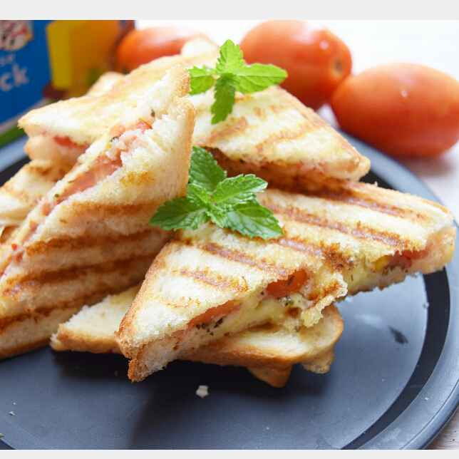 Photo of Grilled tomato cheese sandwich by Dhara joshi at BetterButter