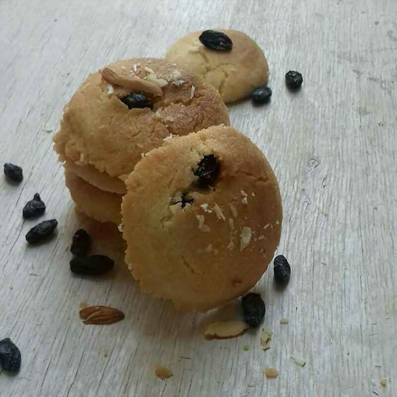 How to make કાળી કીસમીસ કુકીઝ