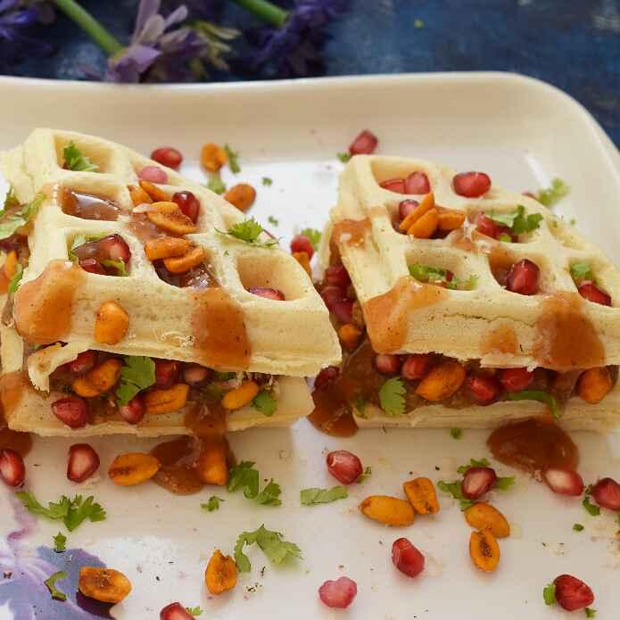 Photo of Dabeli Waffles by Dhara joshi at BetterButter