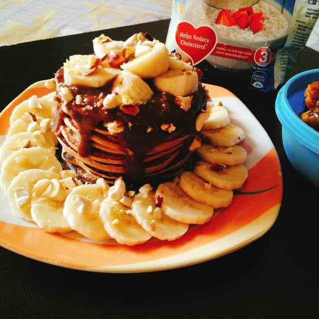How to make Low fat healthy vegan pancakes