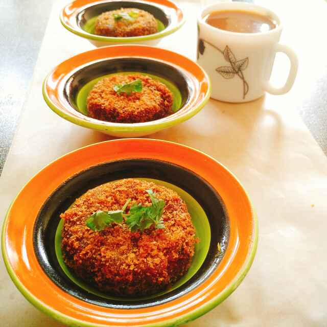 Photo of Lo fate soya chunks tikki by Dhara Shah at BetterButter