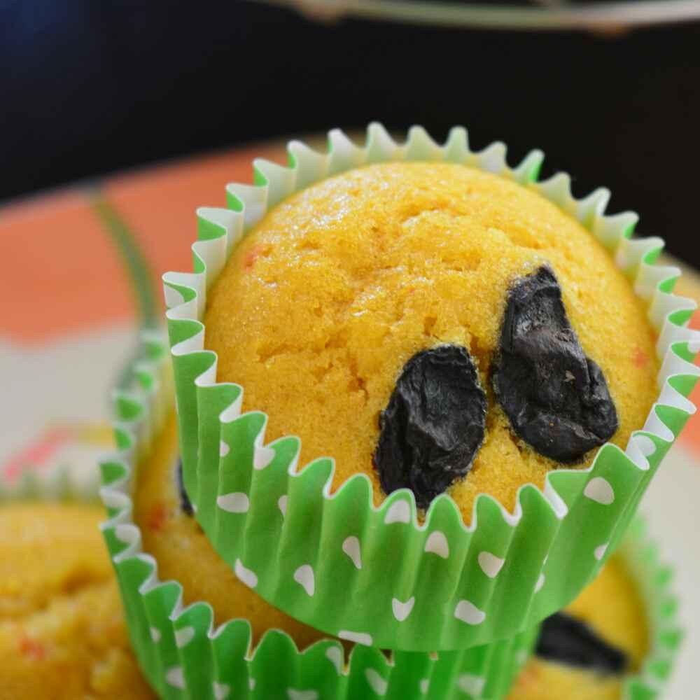 Photo of Healthy lemon cupcake by Dhara Shah at BetterButter