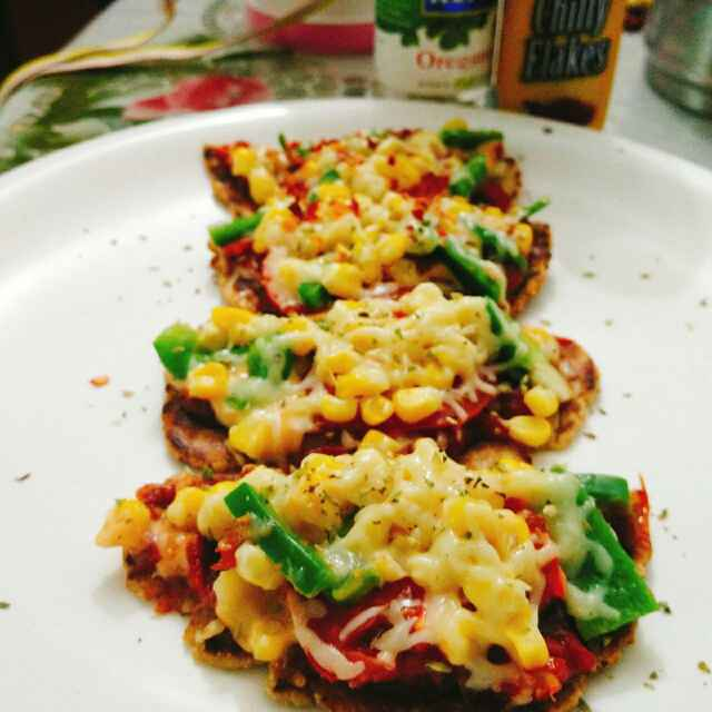 Photo of Helthi bhakhari pizza by Dhara Shah at BetterButter