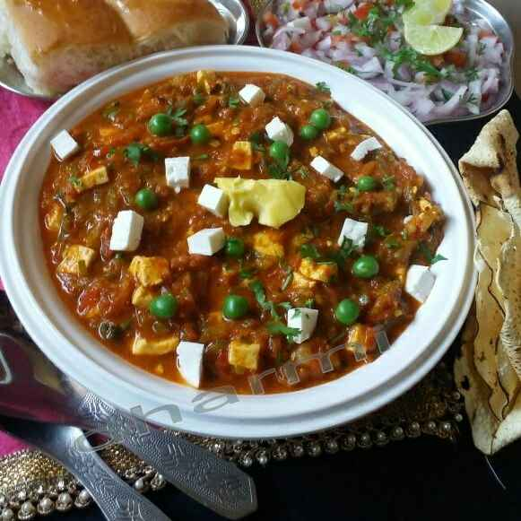 Photo of Paneer pasanda pav bhaji by Dharmistha Kholiya at BetterButter