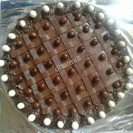 Photo of Choclate truffle cake without oven by Dharmistha Kholiya at BetterButter